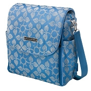 Petunia Boxy Backpack: Elderberry