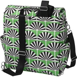 Сумка для мамы Petunia Boxy Backpack: Playful Palm Springs