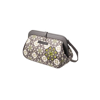 Petunia Cross Town Clutch: Misted Marseille