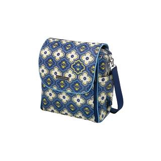 Petunia Boxy Backpack: Mystic Mykonos
